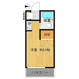 メゾンエレーズNO.2[2階]の間取り