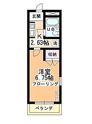 スイートマンション[301号室]の間取り