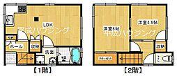 [一戸建] 東京都新宿区市谷薬王寺町 の賃貸【/】の間取り