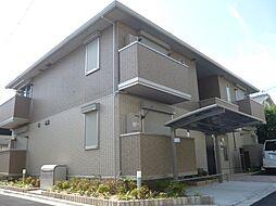 大阪府東大阪市西岩田の賃貸アパートの外観