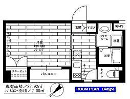 ステージファースト常盤台[2階]の間取り