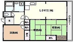 兵庫県西宮市獅子ケ口町の賃貸マンションの外観