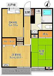 紅楓マンション[3階]の間取り