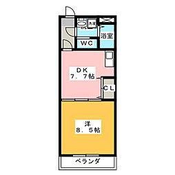 E−STAGE I[2階]の間取り