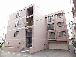 北海道札幌市東区北23条東15丁目の賃貸マンションの外観