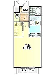 ジ・アパートメント荻窪I[104号室]の間取り