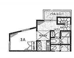 ルラシオン氷川台[3A号室]の間取り