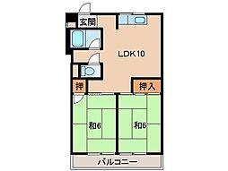 リゾートハウス貴志[3階]の間取り