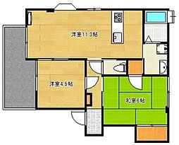 UraraI[2階]の間取り