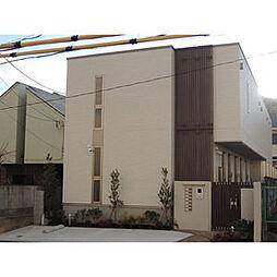 愛知県名古屋市名東区高社1丁目の賃貸アパートの外観