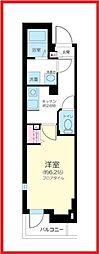 東京都墨田区東駒形2丁目の賃貸マンションの間取り