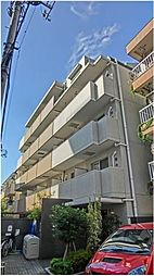 東京都渋谷区幡ヶ谷2丁目の賃貸マンションの外観