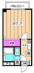 PAL ASAGAYA[3階]の間取り