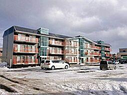 北海道札幌市北区新川二条9丁目の賃貸マンションの外観