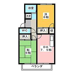 SYK−24[2階]の間取り