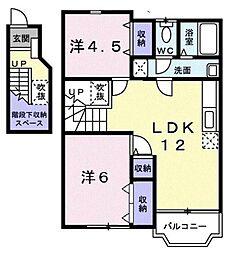 グレースコート[2階]の間取り