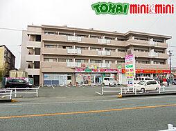三重県松阪市春日町2丁目の賃貸マンションの外観