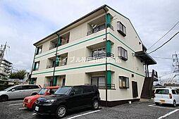 岡山県岡山市中区原尾島3の賃貸アパートの外観