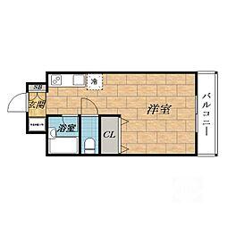 ラヴェールミナミ[2階]の間取り