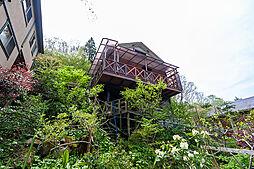 京都府南丹市園部町 渓流に面するDIYなウッディハウス