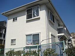 神奈川県横浜市鶴見区馬場1丁目の賃貸アパートの外観