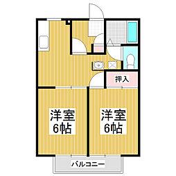 サンライフヤマニ[2階]の間取り