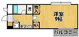 シティルーム中井III[4階]の間取り