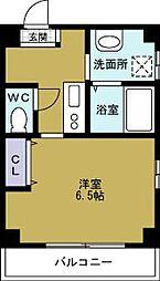 ヴィラナリー西九条2[4階]の間取り