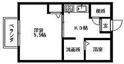チェルシーハウス[2階]の間取り
