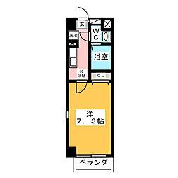 KRUNGTHEP−HILLS[2階]の間取り