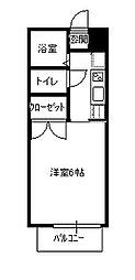 WIN台原[203号室]の間取り