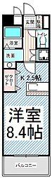 長野県長野市中御所1丁目の賃貸マンションの間取り
