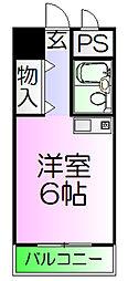 メゾンエルム[13階]の間取り