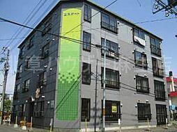 北海道札幌市北区北三十五条西9丁目の賃貸マンションの外観