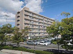 岡山県岡山市南区新保の賃貸マンションの外観