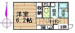 ルナハウス[1階]の間取り