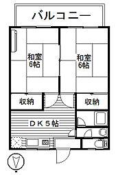 町田ハイツ[2階]の間取り