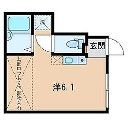 東京都練馬区東大泉3丁目の賃貸アパートの間取り