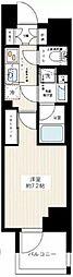 JR常磐線 南千住駅 徒歩10分の賃貸マンション 10階1Kの間取り