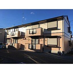栃木県塩谷郡高根沢町光陽台2丁目の賃貸アパートの外観
