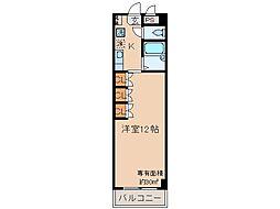 京都府宇治市小倉町寺内の賃貸マンションの間取り