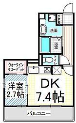 仮)D-room三輪3丁目[2階]の間取り