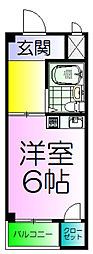宿院ピア1[2階]の間取り