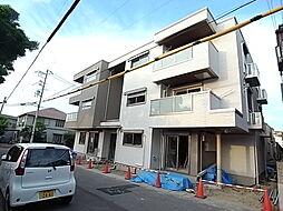 兵庫県神戸市垂水区中道5丁目の賃貸アパートの外観