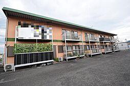 栃木県宇都宮市若松原1丁目の賃貸アパートの外観