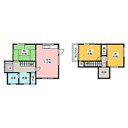 [一戸建] 愛知県名古屋市守山区西新 の賃貸【/】の間取り