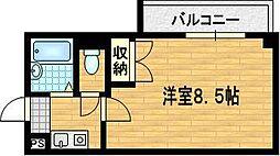 サキゾーメゾン竹鼻[1階]の間取り