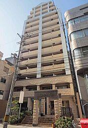 プレサンス心斎橋モデルノ[10階]の外観