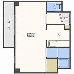ルーセント24[3階]の間取り
