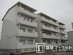 愛知県豊田市上野町3丁目の賃貸マンションの外観